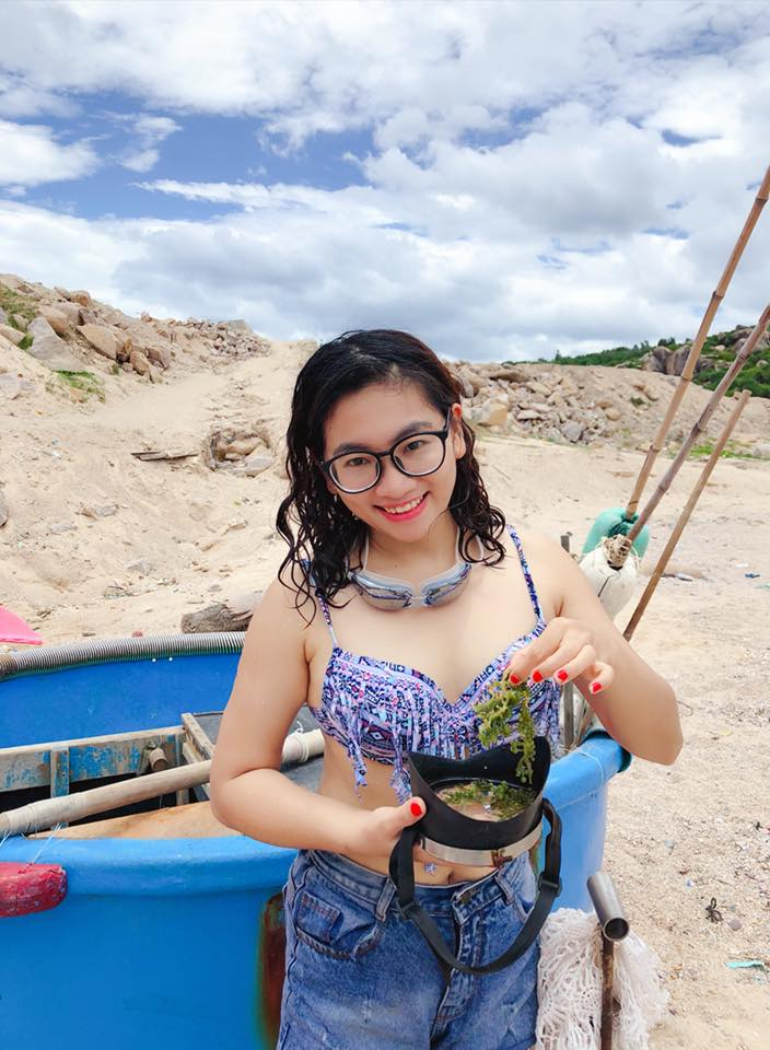 Hòn đảo Cù Lao Xanh vô cùng hấp dẫn giới trẻ check in